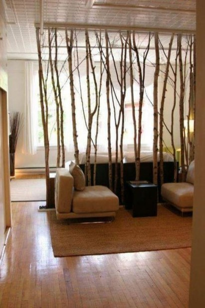 Cool Partition Living Room Ideas 57