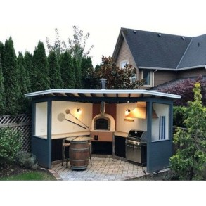 Cozy Outdoor Kitchen Design Ideas 02