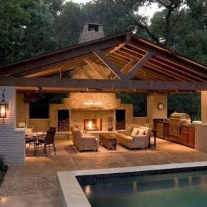 Cozy Outdoor Kitchen Design Ideas 03