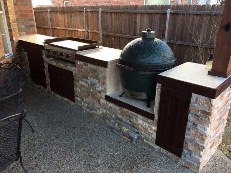 Cozy Outdoor Kitchen Design Ideas 10
