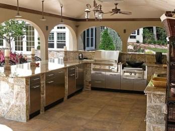 Cozy Outdoor Kitchen Design Ideas 12
