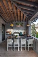 Cozy Outdoor Kitchen Design Ideas 14