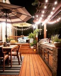 Cozy Outdoor Kitchen Design Ideas 32