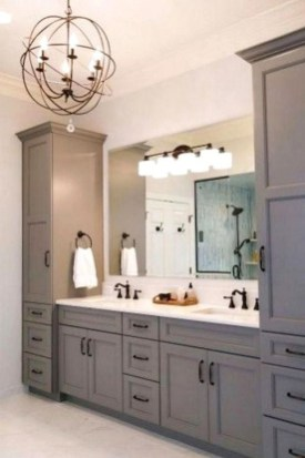 Fascinating Bathroom Vanity Lighting Design Ideas 42