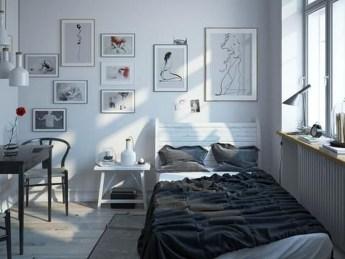 Genius Rustic Scandinavian Bedroom Design Ideas 13