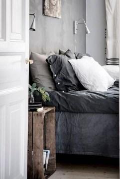 Genius Rustic Scandinavian Bedroom Design Ideas 18