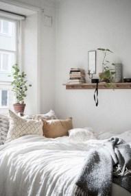 Genius Rustic Scandinavian Bedroom Design Ideas 19