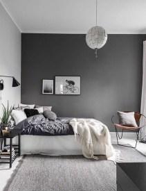 Genius Rustic Scandinavian Bedroom Design Ideas 31