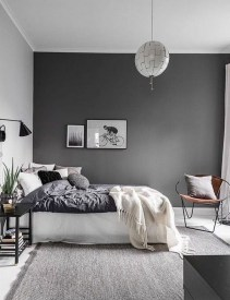 Genius Rustic Scandinavian Bedroom Design Ideas 31