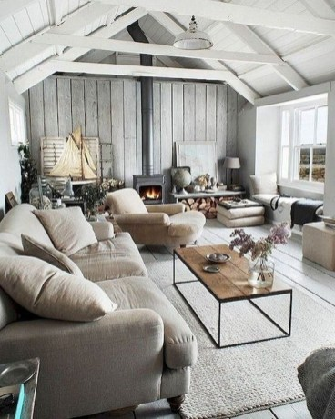 Gorgeous Farmhouse Design Ideas For Living Room 30