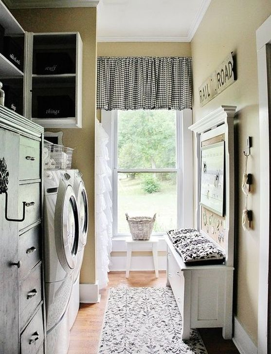 Innovative Laundry Room Design With French Country Style 11