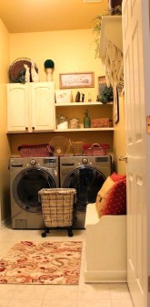 Innovative Laundry Room Design With French Country Style 31