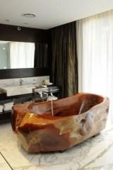 Marvelous Wooden Bathtub Design Ideas To Get Relax 12