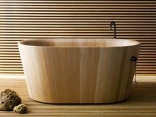 Marvelous Wooden Bathtub Design Ideas To Get Relax 19