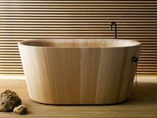 Marvelous Wooden Bathtub Design Ideas To Get Relax 19