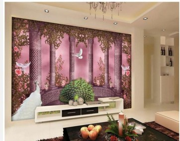 Perfect 3D Wallpapaer Design Ideas For Living Room 06