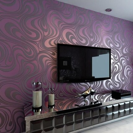 Perfect 3D Wallpapaer Design Ideas For Living Room 13