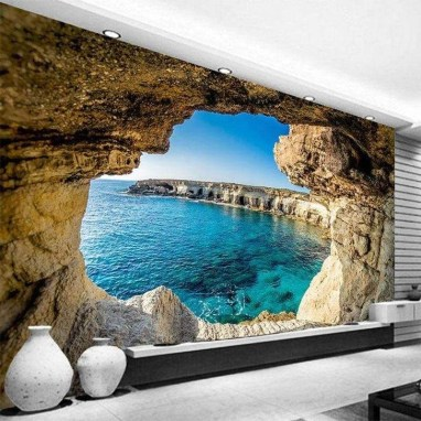 Perfect 3D Wallpapaer Design Ideas For Living Room 17