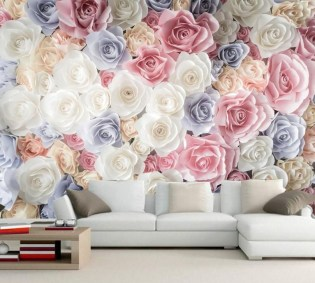 Perfect 3D Wallpapaer Design Ideas For Living Room 42