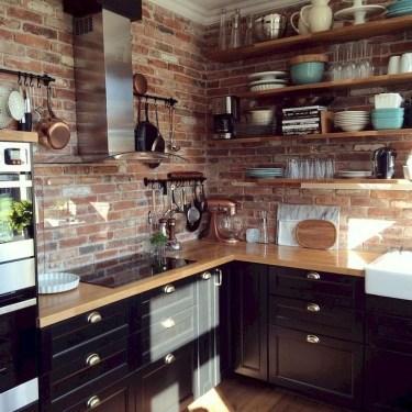 Pretty Cottage Kitchen Design And Decor Ideas 34