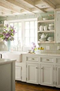Pretty Cottage Kitchen Design And Decor Ideas 39