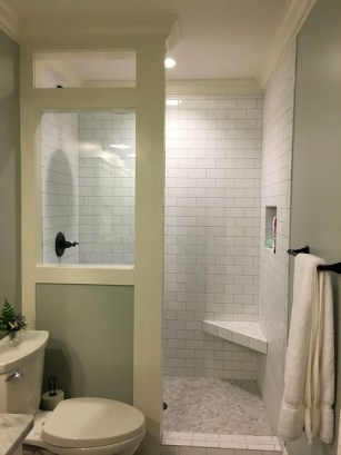 Unique Bathroom Shower Remodel Ideas 44