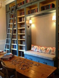 Wonderful Home Library Design Ideas To Make Your Home Look Fantastic 02