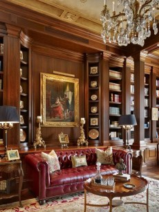 Wonderful Home Library Design Ideas To Make Your Home Look Fantastic 14