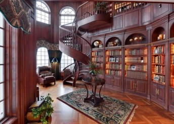 Wonderful Home Library Design Ideas To Make Your Home Look Fantastic 28