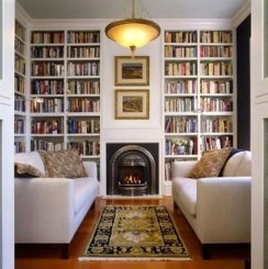 Wonderful Home Library Design Ideas To Make Your Home Look Fantastic 30