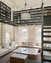 Wonderful Home Library Design Ideas To Make Your Home Look Fantastic 31