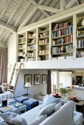 Wonderful Home Library Design Ideas To Make Your Home Look Fantastic 32