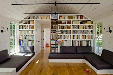 Wonderful Home Library Design Ideas To Make Your Home Look Fantastic 40