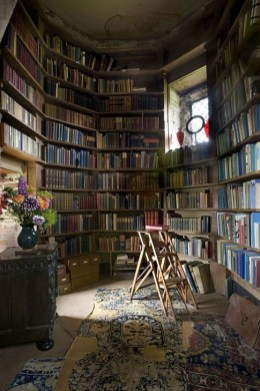 Wonderful Home Library Design Ideas To Make Your Home Look Fantastic 42