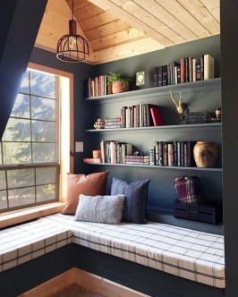 Wonderful Home Library Design Ideas To Make Your Home Look Fantastic 52