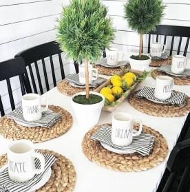 Adorable Summer Dining Room Design Ideas 02