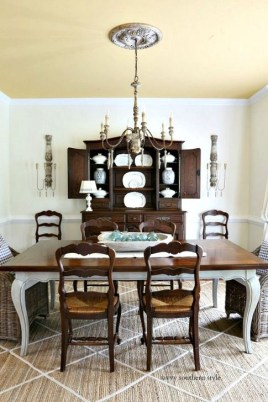 Adorable Summer Dining Room Design Ideas 06