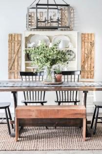 Adorable Summer Dining Room Design Ideas 20