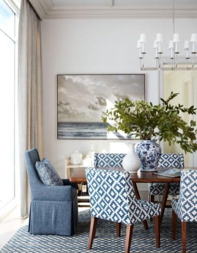 Adorable Summer Dining Room Design Ideas 30