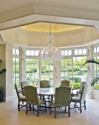 Adorable Summer Dining Room Design Ideas 31
