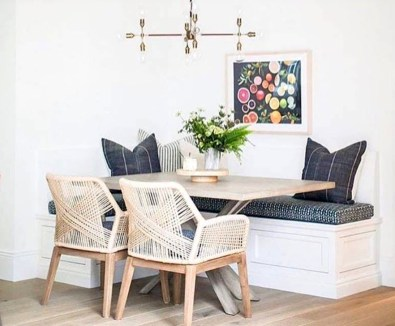 Adorable Summer Dining Room Design Ideas 47