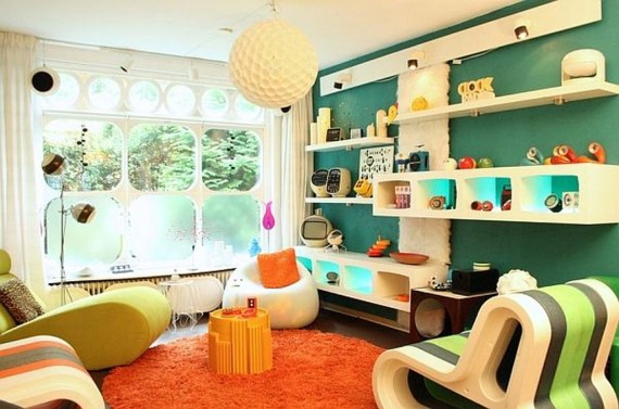 Affordable Retro Style Ideas For Your Interior Design 07