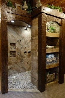 Amazing Bathroom Shower Remodel Ideas On A Budget 14