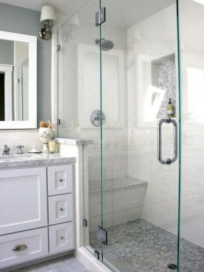 Amazing Bathroom Shower Remodel Ideas On A Budget 16