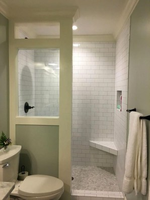 Amazing Bathroom Shower Remodel Ideas On A Budget 27
