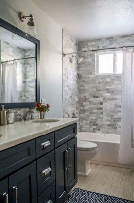 Amazing Bathroom Shower Remodel Ideas On A Budget 35