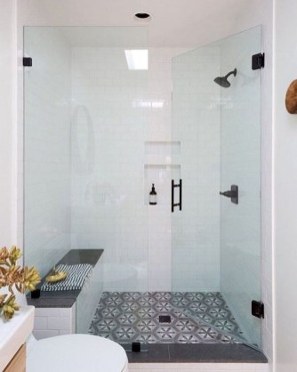 Amazing Bathroom Shower Remodel Ideas On A Budget 36