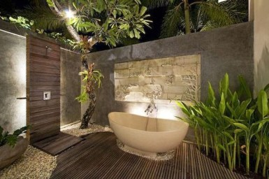 Best Ideas For Outdoor Bathroom Design 03