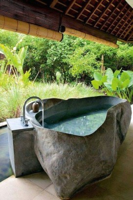 Best Ideas For Outdoor Bathroom Design 19