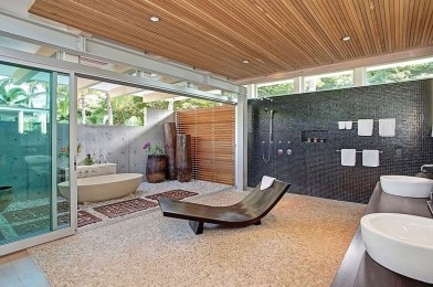 Best Ideas For Outdoor Bathroom Design 26